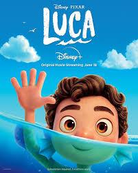 Disney+ - Disney and Pixar's Luca swims to #DisneyPlus on...