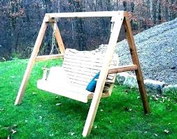 swing with stand porch swing with stand wood frame plans stands metal wooden a frame swing swing with stand porch