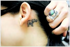 Dream Catcher Tattoo Behind Ear 100 Powerful Elephant Tattoo Designs With Meaning 76