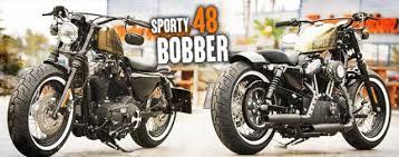 harley davidson sportster 48 bobber kit hobbiesxstyle