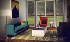 sims 3 cc furniture. Impressive Fine Sims 3 Living Room Avec Onyx Cc Furniture