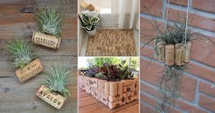 24 great diy wine cork ideas for the garden home