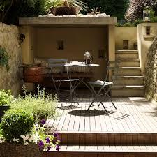 garden decking on split levels