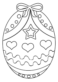 Small Picture Free Printable Easter Egg Coloring Pages For Kids