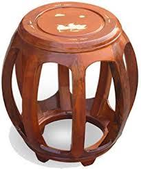 AINIYF Sofa Stool Chinese Antique Drum Stool Solid ... - Amazon.com