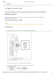 k3-Ve Cooling Cooling Fan System Cooling Fan Circuit   Relay ...