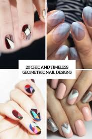 Simple Geometric Nail Designs 20 Chic And Timeless Geometric Nail Designs Styleoholic