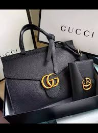 gucci bags 2017 black. gucci small gg marmont leather top handle is a structured bag but the signature bags 2017 black m