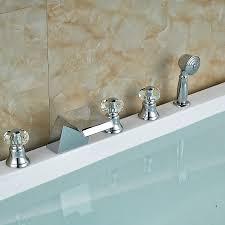 Waterfall Bathtub Designs Excellent Waterfall Bathtub Faucet Bronze 1 Contemporary