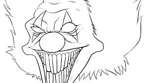 Scary Monster Coloring Pages Scary Monster Coloring Pages To Print
