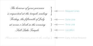 Format Invitation Card Ceremony Card Wording