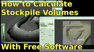 How to Calculate Stockpile Volumes ...