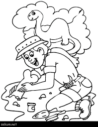 Fossil Coloring Pages Dinosaur Bones Coloring Pages Chaihuthuytinh Free