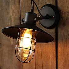 winsoon harbor sconce industrial 1pc wall light warehouse edison vintage bulb all s