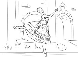 Coppelia Ballet Kleurplaat Gratis Kleurplaten Printen