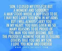 Son Birthday Quotes on Pinterest | Happy Birthday Son, Mom ... via Relatably.com