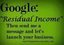 Ambit Residual Income Chart Network Marketing Financial Component Is Residual Income