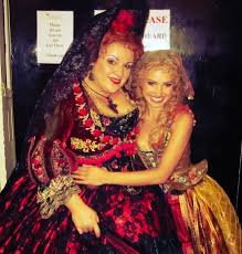 With Wendy Ferguson as Carlotta | Phantom of the opera, Costume drama,  Celebs