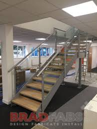 Office Stairs Steel Fabricators Of Balconies Staircases Steel Staircase With