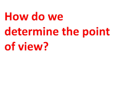 Narrative Perspective (Point of View) - ppt video online download