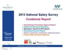 Salary Report National Salary Survey Report Association Of Canadian Advertisers