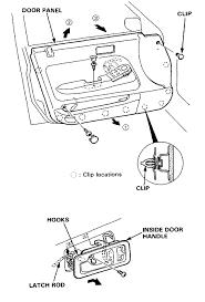 Figure 7 Honda Door Panel Clips