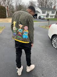 Ecru oversized zip through hoodie. Ed Edd N Eddy Hand Crafted Jean Jacket Follow Niycustoms On Instagram Jeanjacketoutfits Ededdneddy Customs Jac In 2020 Jean Jacket Outfits Jean Jacket Jackets