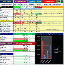 power transformation tracker workout progress sheet excel manager for