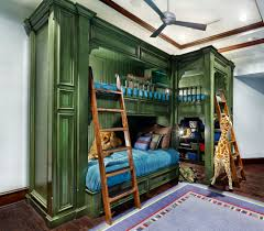 Awesome Bunk Beds | Bunk Bed with Futon and Desk | Teen Bunk Beds