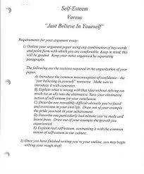 self concept essay yourself docoments ojazlink write an essay on self confidence