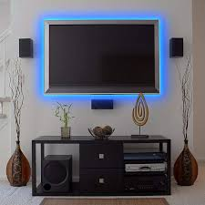 color led tape light kit 16 foot with remote control 3f949 lamps