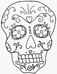 Skeleton Coloring Pages - glum.me
