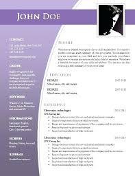 Resume Sample For Free Free Resume Sample Templates Emelcotest Com