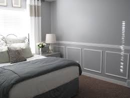 chair rail molding with crown molding in bedroom with decorative molding ideas with chair rail molding