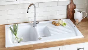 Full Size of Countertops & Backsplash: White Subway Tile Backsplash Double  Handle Kitchen Faucets Dark ...
