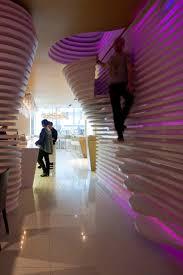 Futuristic Sushicafe Avenida Interior In Lisbon Portugal Home - Futuristic home interior