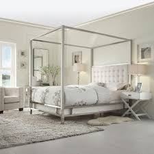 Taraval White Queen Canopy Bed