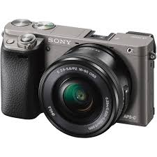 sony ilce 6000. sony alpha a6000 mirrorless digital camera with 16-50mm lens (graphite) ilce 6000