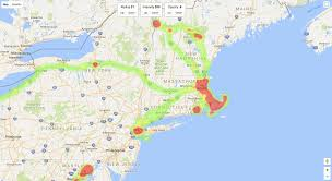 how i created a heatmap of my location history with javascript