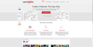 best websites for resume building careerigniter