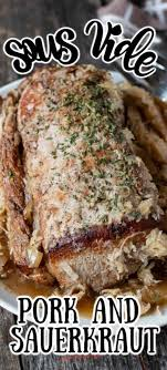 Pour sauce over pork chops. Pin On Sous Vide And Instant Pot Recipes