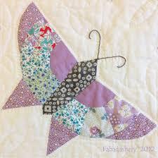 Fabadashery: #2 Butterfly Quilt - Techniques and Construction & Butterfly Block Scrap Quilt Adamdwight.com