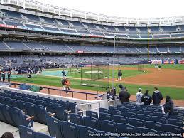 Yankee Stadium Legends Seating Chart Yankee Stadium View From Legends 14b Vivid Seats