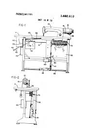 patent us3832613 sewing machine motor and control circuit patent drawing