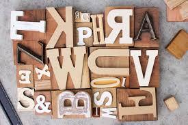 wood block wall art diy art idea with faux letterpress print blocks make do crew