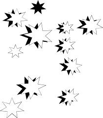 Weihnachtssterne Clipart Schwarz Weiß Clipart Portal