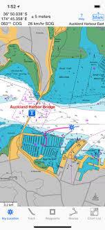Visual Navigation Chart Nz I Sail Gps Nz Nzmariner Charts