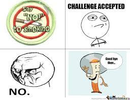 Say No To Smoking! by d4ngerous - Meme Center via Relatably.com
