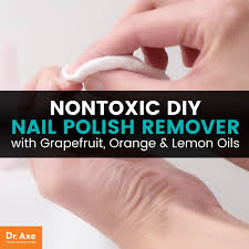 all natural nail polish remover diy