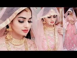 indian bridal makeup transformation